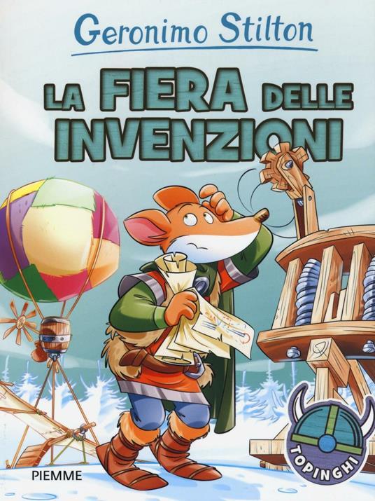 La fiera delle invenzioni - Geronimo Stilton - copertina
