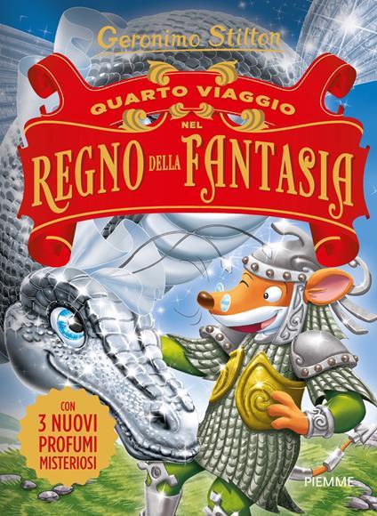 Quarto viaggio nel Regno della Fantasia - Geronimo Stilton - copertina