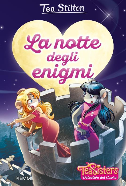 La notte degli enigmi. Con pochette - Tea Stilton - copertina