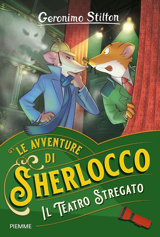 Il teatro stregato - Geronimo Stilton - copertina