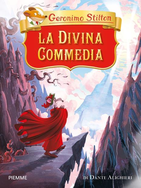 La Divina Commedia di Dante Alighieri - Geronimo Stilton - copertina