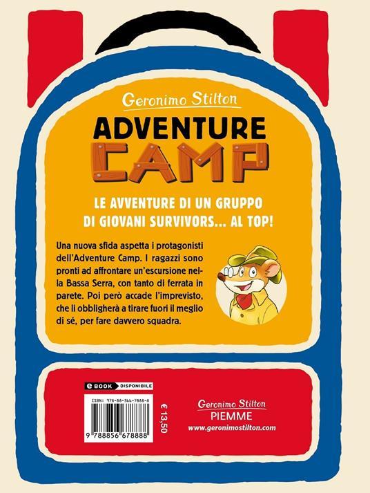 Coraggio in alta quota. Adventure Camp - Geronimo Stilton - 2