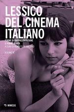 Lessico del cinema italiano. Forme di rappresentazione e forme di vita. Vol. 3