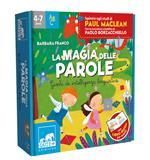 La magia delle parole. Giochi di intelligenza linguistica. Ediz. a colori. Con dado. Con 4 pedine. Con 6 tessere puzzle. Con 64 Carte