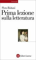Prima lezione sulla letteratura. Nuova ediz.