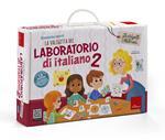 La valigetta del laboratorio di italiano. Con gadget. Vol. 2: 12 giochi per imparare divertendosi in terza, quarta e quinta.