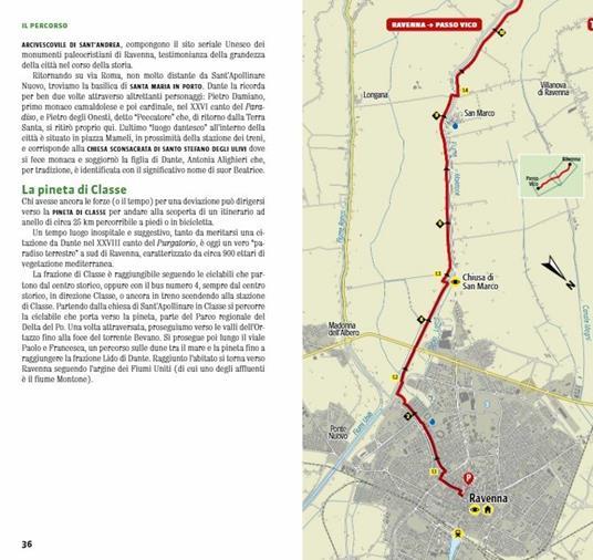 Il cammino di Dante. Da Ravenna a Firenze e ritorno. 300 km a piedi tra Romagna e Toscana - Marcello Bezzi,Silvia Rossetti,Massimiliano Venturelli - 4