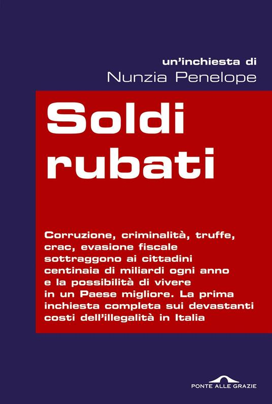Soldi rubati - Nunzia Penelope - copertina