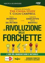 La rivoluzione delle forchetta. L'ABC del mangiar sano e naturale. Ediz. italiana e inglese. 2 DVD