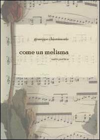 Come un melisma - Giuseppe Chiaramonte - copertina