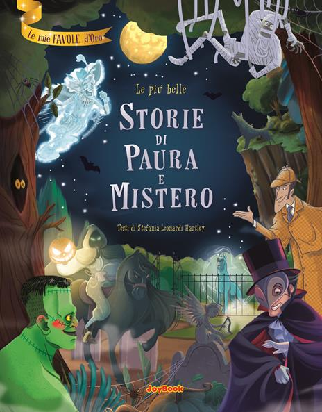 Le più belle storie di paura e mistero - Stefania Leonardi Hartley - copertina