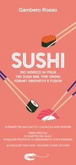 Sushi. 250 indirizzi in Italia