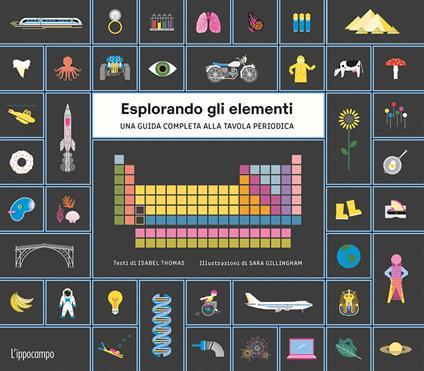 Esplorando gli elementi. Una guida completa alla tavola periodica. Ediz. illustrata. Con Poster - Sara Gillingham,Isabel Thomas - copertina