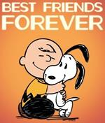Magnete Snoopy. Best Friends