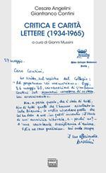 Critica e carità. Lettere (1934-1965)