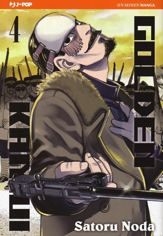 Golden kamui. Vol. 4 - Satoru Noda - copertina