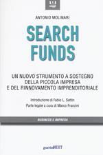 Search funds. Un nuovo strumento a sostegno della piccola impresa e del rinnovamento imprenditoriale