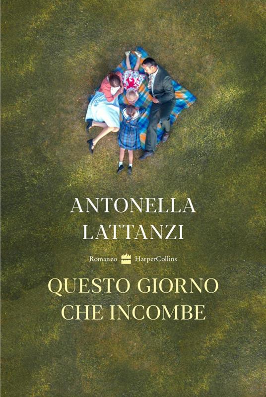 Questo giorno che incombe - Antonella Lattanzi - copertina