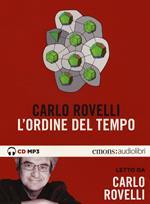 L' ordine del tempo letto da Carlo Rovelli. Audiolibro