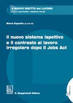Il nuovo sistema ispettivo e il contrasto al lavoro irregolare dopo il Jobs Act. Con Contenuto digitale per download e accesso on line