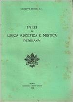 Inizi di lirica ascetica e mistica persiana