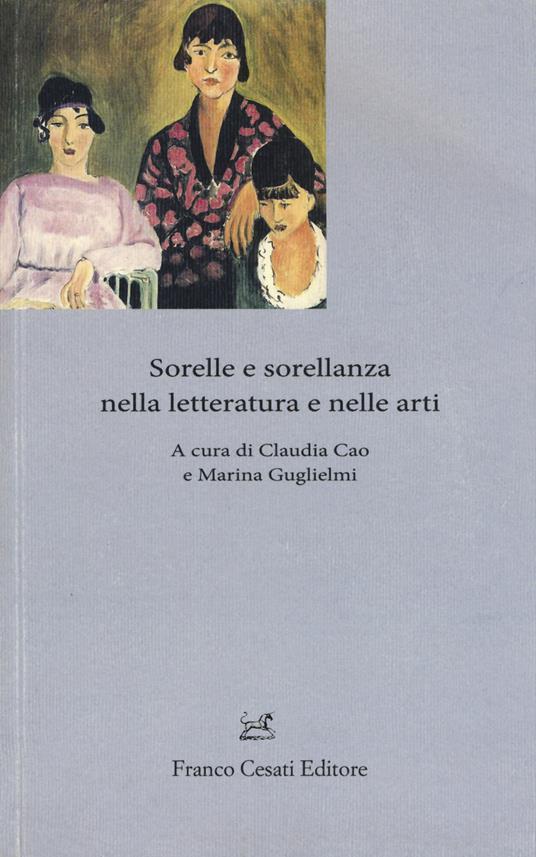 Sorelle e sorellanza nella letteratura e nelle arti - copertina