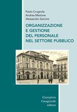 Organizzazione e gestione del personale nel settore pubblico