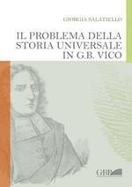 Il problema della storia universale in G. B. Vico