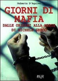 Giorni di mafia - Roberta D'Aquino - copertina