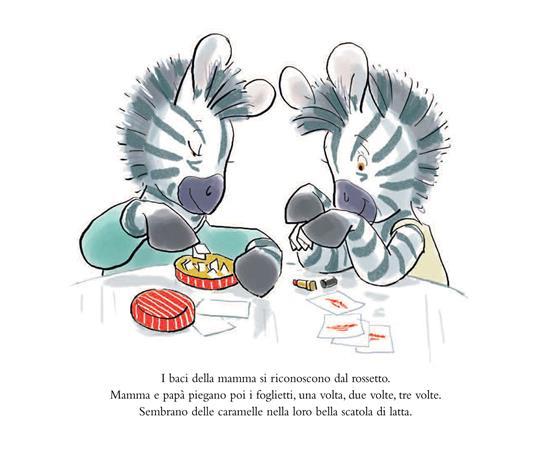 Zeb e la scorta di baci. Ediz. illustrata - Michel Gay - 2