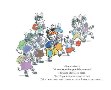 Zeb e la scorta di baci. Ediz. illustrata - Michel Gay - 5