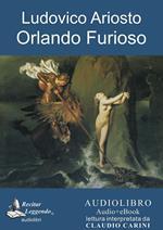 Orlando furioso. Audiolibro. CD Audio formato MP3