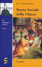 Storia sociale della Chiesa. Vol. 4\2: apogeo, L'.