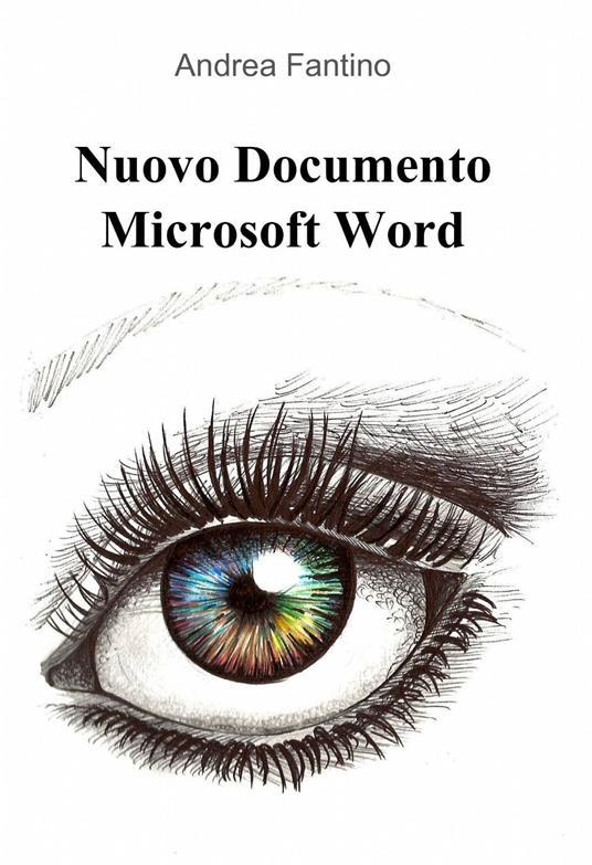 Nuovo documento Microsoft Word - Andrea Fantino - copertina