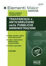 Trasparenza e anticorruzione nelle pubbliche amministrazioni