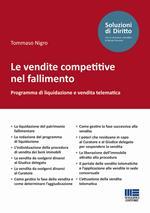 Le vendite competitive nel fallimento. Programma di liquidazione e vendita telematica
