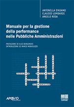 Manuale per la gestione della performance nelle pubbliche amministrazioni