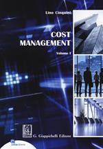 Cost Management. Vol. 1