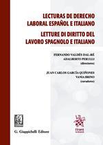 Lecturas de derecho laboral español e italiano-Letture di diritto del lavoro spagnolo e italiano. Ediz. bilingue