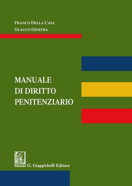 Manuale di diritto penitenziario - copertina