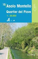 Asolo Montello quartier del Piave 1:30.000