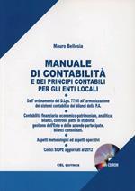 Manuale di contabilità e dei principi contabili per gli enti locali. Con CD-ROM