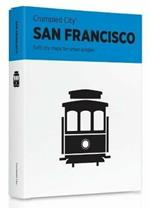 Mappa Crumpled City Map San Francisco