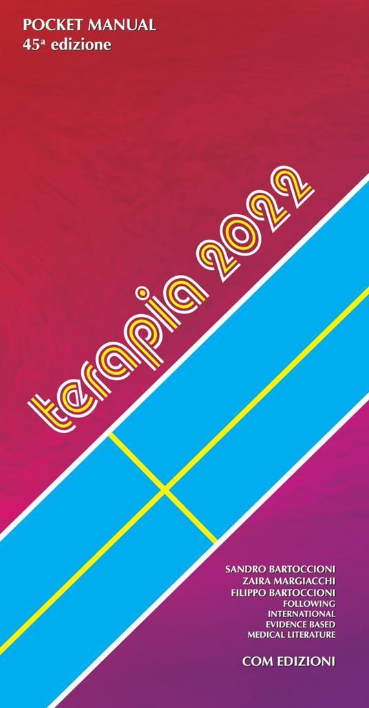 Pocket manual terapia 2022. Con Contenuto digitale per accesso on line - Sandro Bartoccioni,Zaira Margiacchi,Filippo Bartoccioni - copertina