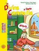 La Divina Commedia di Dante. Ediz. a colori. Con Adesivi